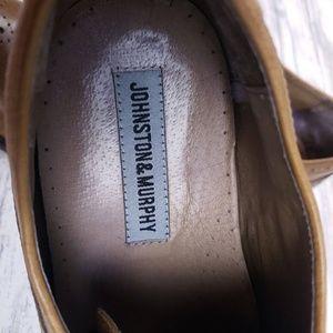 Johnston & Murphy Shoes - Johnston & Murphy Tyndall Wingtip Shoes Size 12